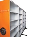 Dörtlü Volanlı Compact Arşiv Sistem 3